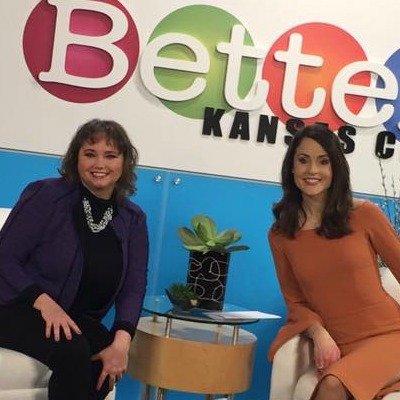 Dr. Susan Harrison on the Better KC television show with Alexis Del Cid